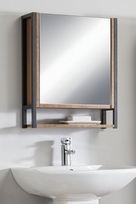 Image For Thornton Bathroom Mirrored Cabinet From Studio In 2021 Bathroom Mirror Cabinet Bathroom Mirror Mirror Cabinets