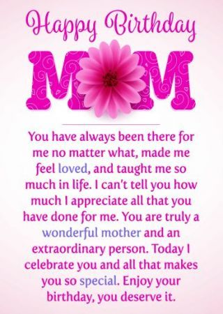 Birthday Greetings For Mother Mom Love You 52 Ideas Birthday