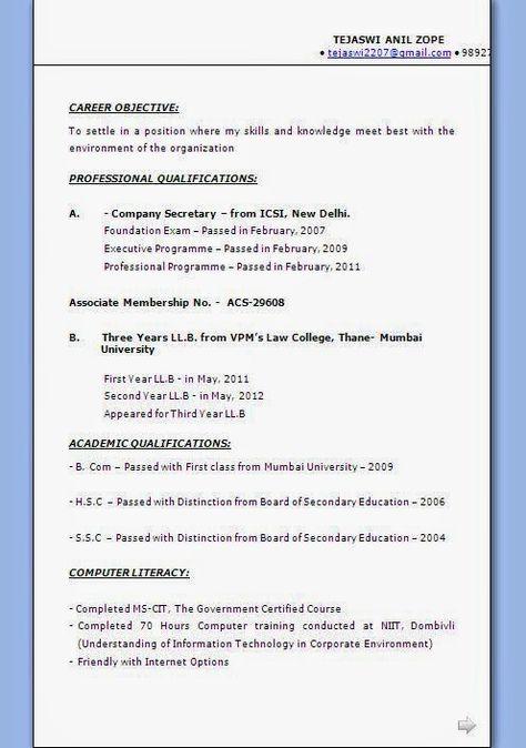 australian cv example Sample Template Example ofExcellent - sample australian resume format