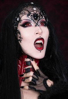 Gothic Victorian, Horror, Gorelesque makeup - Google Search | All ...