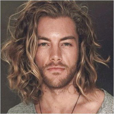 Messy Long Blonde Hair Men Stylesforwavyhair Click For Further Information Cool Hairstyles For Men Long Hair Styles Long Hair Styles Men