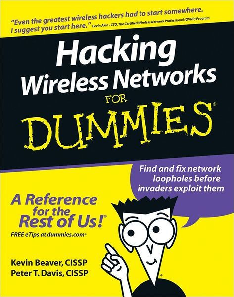 Hacking Wireless Networks For Dummies Paperback Dummies Book Books Ebooks
