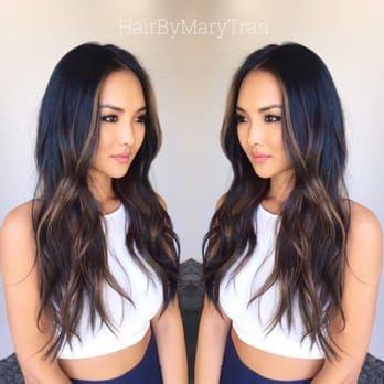 Pin By Bianca Bohemian On Make Me Up Hair Color Asian Black Hair Balayage Asian Hair