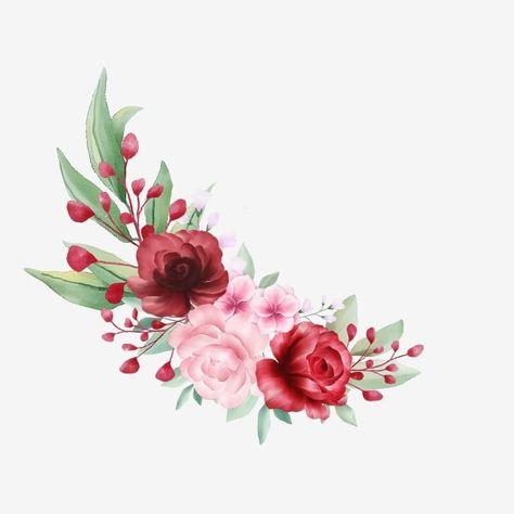 Mazzo Di Fiori O Pianta.Bouquet Di Fiori Bellissimi Per La Composizione Di Biglietti Di