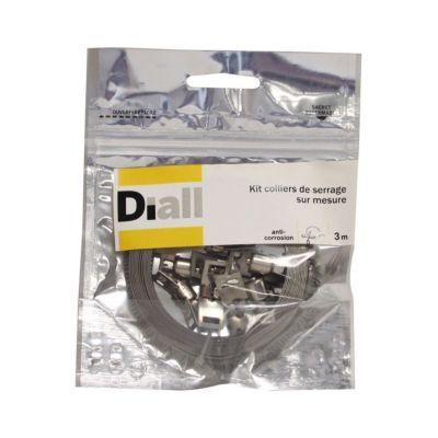 1 Kit Collier De Serrage Sur Mesure Inox Diall 3 M En 2020 Collier De Serrage Inox Et Kit