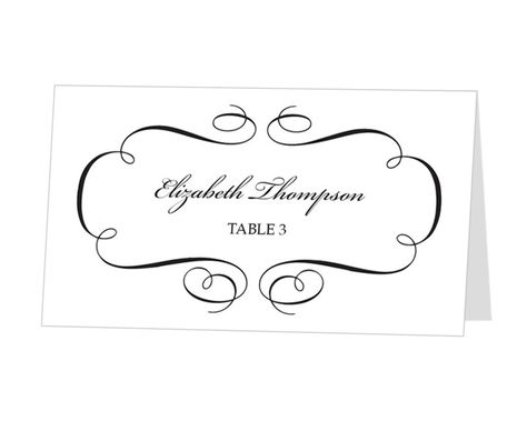 photo about Avery Printable Place Cards named Pinterest