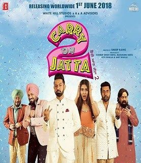 Carry On Jatta 2 2018 Movie 480p Dvdscr 400mb In 2020 With