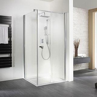 Duschkabine Mit Eckeinstieg Badezimmer Umbau Handtuchhalter Und