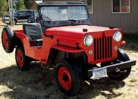 1954 Cj3b Seeleylake Mt2 Jeep Monster Trucks Willys