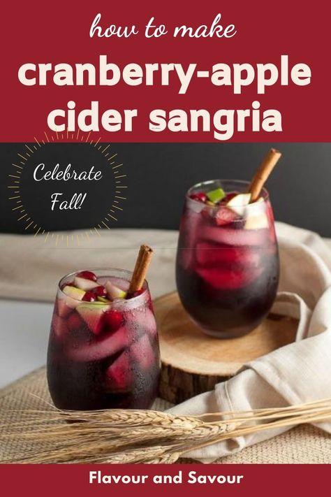 Cranberry Recipes, Fall Recipes, Holiday Recipes, Cranberry Sangria, Red Sangria Recipes, Winter Sangria, Coctails Recipes, Smoothie Recipes, Holiday Ideas