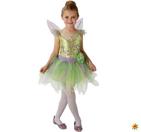 Kinder Kostüm Tinkerbell deluxe, Kleid mit Flügeln   Kinder