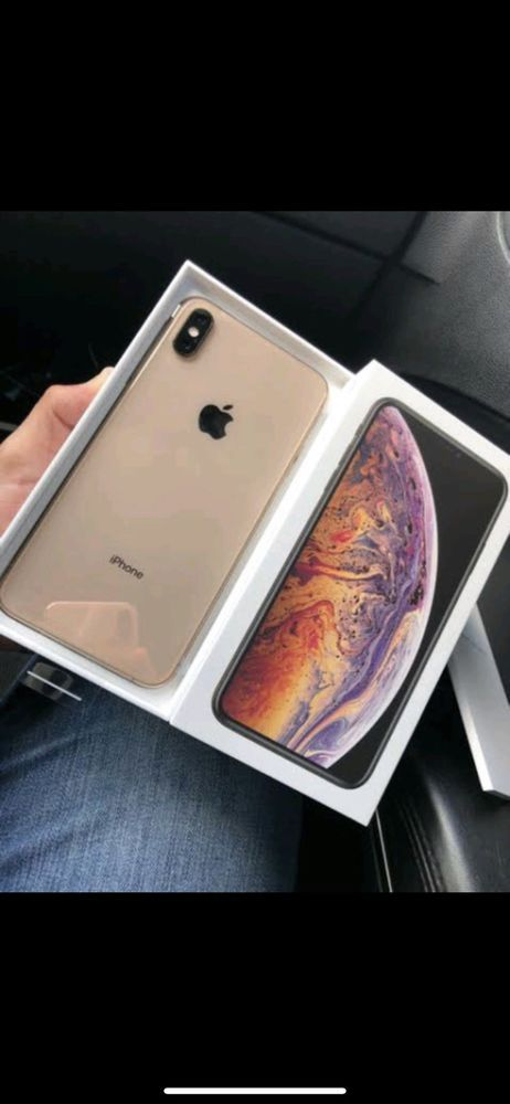 Iphone Xs Max 256gb Gold A1921 Att Cricket H2o New In