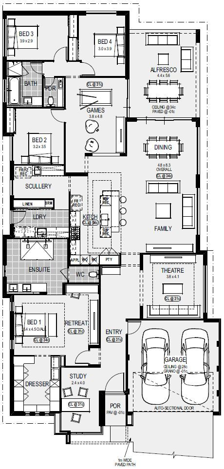 Group House Architecture Modern Architecture My House Plans Home Design Floor Plans New House Plans