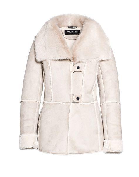 beaumont - jas - lammy off white | coats | pinterest - off white en coat