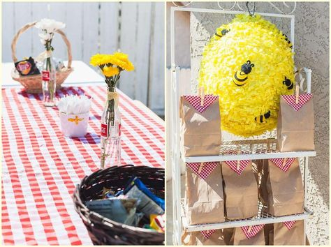 DIY Bumble Bee Party Ideas Bumblebee Themed Birthday With Free Printables Theme Uk Balloons Part