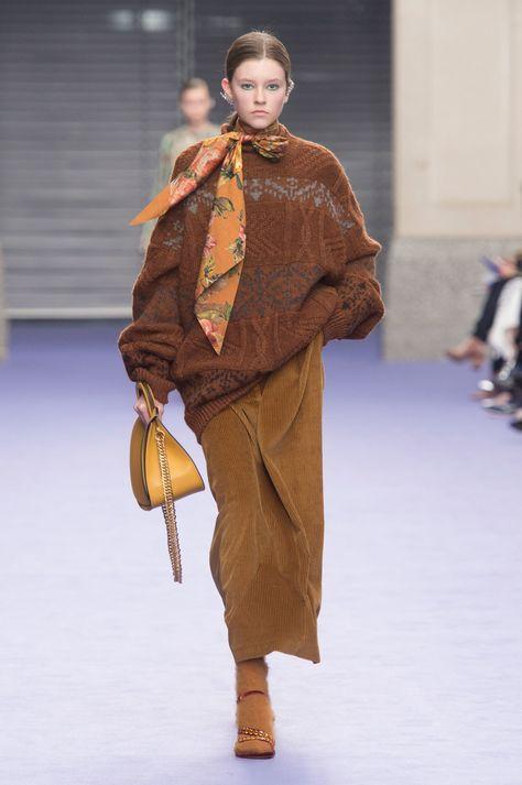 Mulberry at London Fashion Week Fall 2017