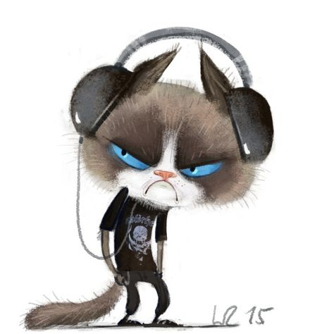 still grumpy - Wiebke Rauers Illustration