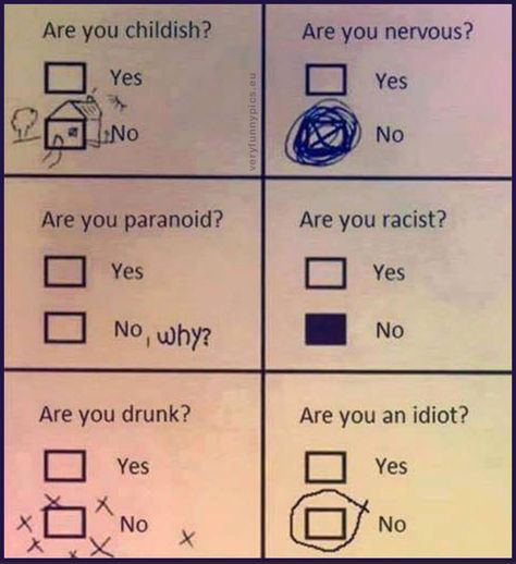 A clever way to fill out a form | Very Funny Pics