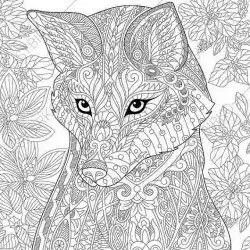 Pin By Sabrina Oslender On Coloring Sheets Fox Coloring Page Animal Coloring Pages Animal Coloring Books