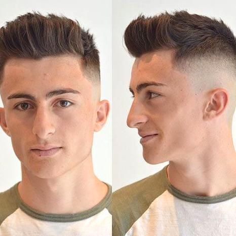 High Skin Fade With Spiky Quiff In 2020 Mens Haircuts Short Mens Hairstyles Short Popular Mens Hairstyles