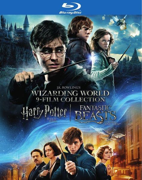 J.K. Rowling's Wizarding World: 9-Film Collection [Blu-ray]