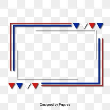 Blue White And Red Border Text Box Border Frame Png And Vector With Transparent Background For Free Download Blue Background Images Blue And White Red And White Flag