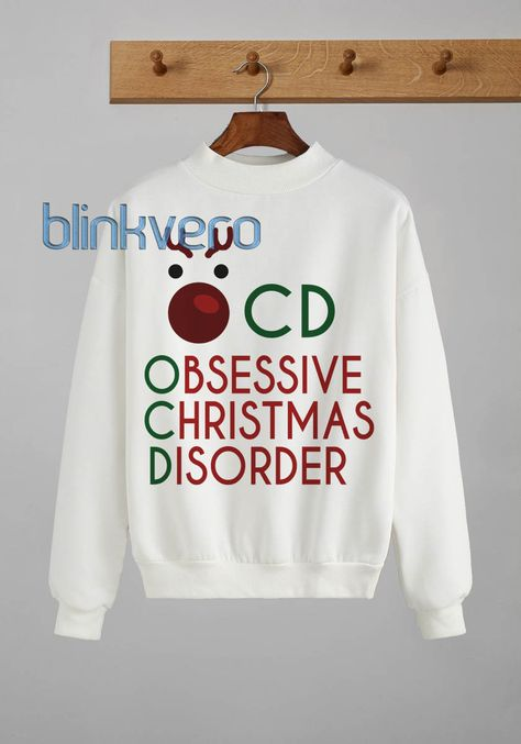 Ocd funny style christmas sweater t shirt 26 //Price: $23 & FREE Shipping //     #gift shirts