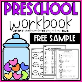 Preschool Worksheets Free Sample Free Preschool Worksheets Preschool Worksheets Preschool Workbooks Preschool worksheets teachers pay