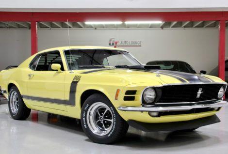 1970 Ford Mustang Boss 302 Ford Mustang Boss 302 Ford Mustang