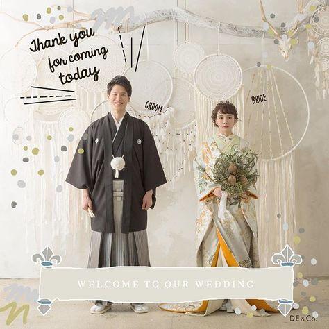 65fc9bf831a85 ... 着物  ウェディングフォト  日本中のプレ花嫁さんと繋がりたい  2018春婚  ヘアスタイル  ウエディングドレス   d weddingphoto  ドライフラワー  ウェルカムボード