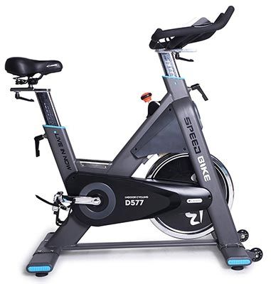 Xtremepowerus Cycle 20 Exercise Bike Indoor Cycling Bicycle W