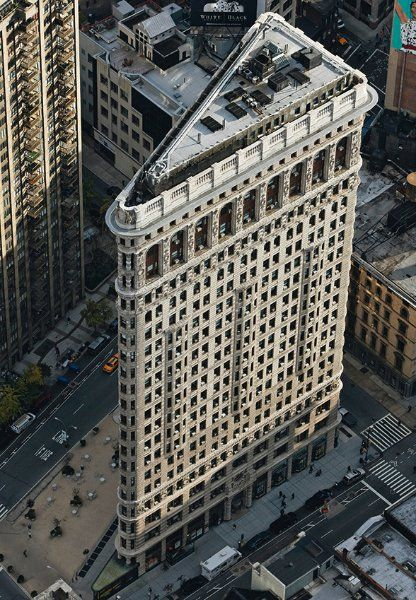 Flatiron building by Yann-Arthus Bertrand