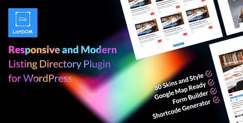 Listdom — Advanced Directory and Listing Plugin   Stylelib