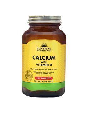 شراء أقراص فيتامينات متعددة للناء من ماركة صن شاين نوترشن 100 قرص أونلاين سبري الإمارات In 2020 Organic Flax Seed Nutrition Vitamin D Calcium