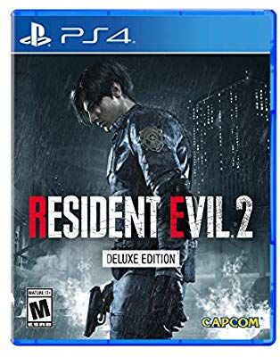 Amazon Com Resident Evil 2 Playstation 4 Deluxe Edition Video Games Resident Evil Resident Evil 2 Ps4 Xbox One