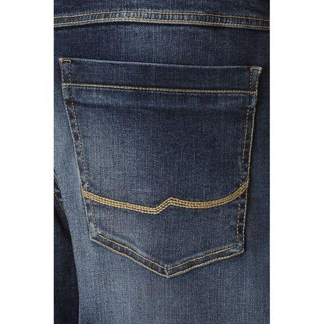 Buffalo David Bitton Mens Six Slim Straight Leg Jean in Pine