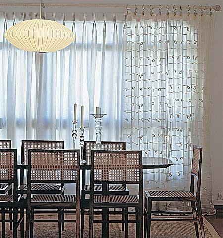 13 Tipos de cortinas para sala