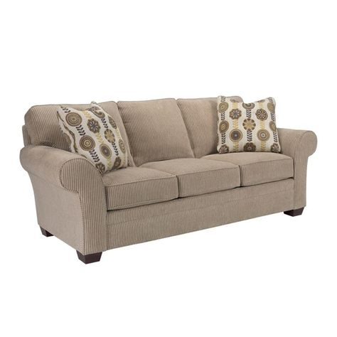 broyhill sofa nebraska furniture mart cama chaise longue almacenaje zachary good night queen sleeper in brown