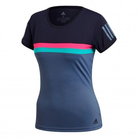 adidas Club tennisshirt dames legend ink | Kleding, Fit
