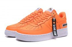 Unisex Nike Air Force 1 Low Just Do It Total Orange White