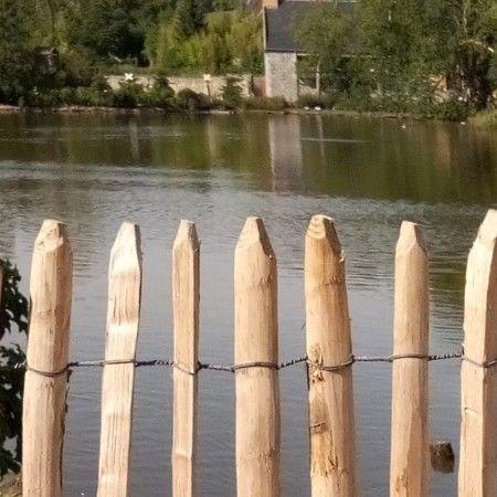 Cloture Bois Plage Et Dune Ganivelle En Robinier 5m Cloture Bois Cloture Ganivelle Ganivelles