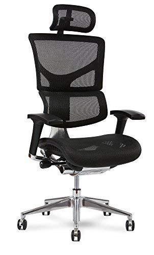X Chair X2 Executive Task Chair Black K Sport Mesh With Headrest Office Chair Ergonomic Office Furniture Leather Office Chair