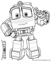 Keptalalat A Kovetkezore Kay Robot Train Coloring Pages