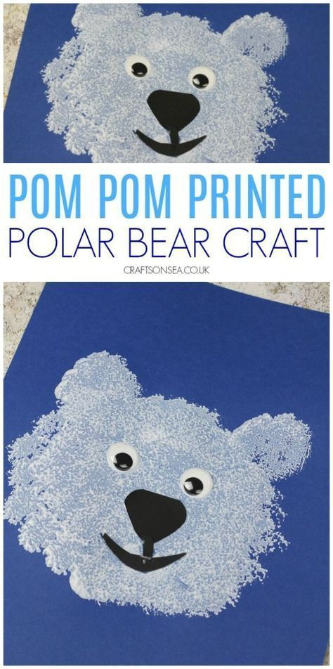Photo of Polar Bear Craft for Toddlers