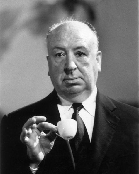 """d58be592f9de52 Happy 117th Birthday Alfred Hitchcock """""""