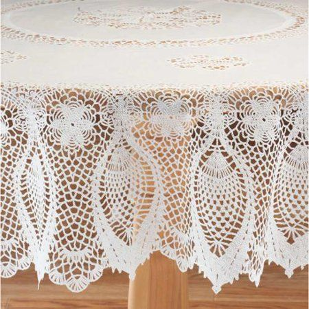 Home Lace Table Vinyl Tablecloth Table Covers