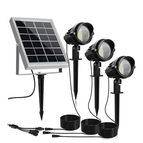 Waterproof Solar Powered Led Outdoor Garden Lights Path Patio Light Solar Spot Lights Solar Landscape Lighting Outdoor Garden Lighting