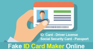 fake social security card maker