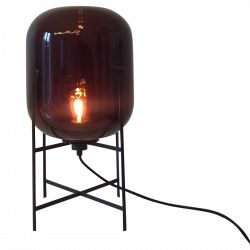 Lampe Oda Small Aubergine De Herkner Sebastian Pour Pulpo Luminaire Lampadaire Lumiere