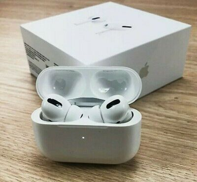Airpods Pro Mwp22am A Wireless Bluetooth Headset With Charging Case White Bluetooth Headset Wireless Bluetooth Iphone Wireless